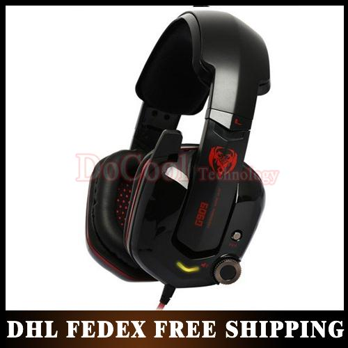50%Shipping Somic G909 USB 7.1 Stereo Headset Professional Gaming Headphone Powerful Bass Earphone with Microphone(China (Mainland))