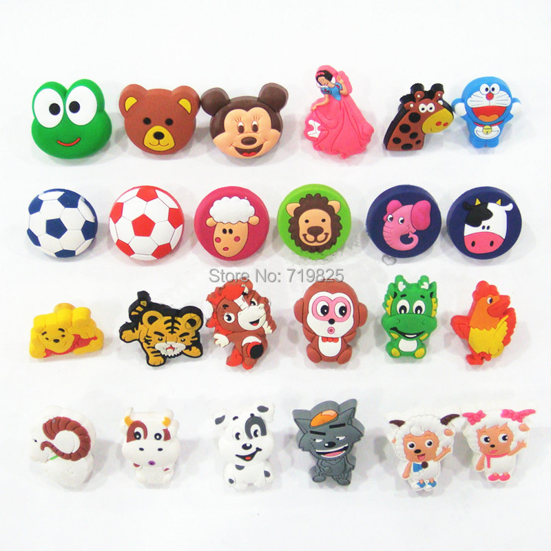 Гаджет  Kids Furniture Handles Children cute Cartoon Soft Carbinet Knobs Kids knob Modern Hardware decorative drawer handle None Мебель
