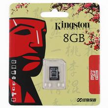 KINGSTON Micro SD Card UHS-I U1 4gb 8gb C4/16GB 32GB 64GB C10 Memory Card  TF Card for Phone Tablet 100% Genuine  real capacity(China (Mainland))