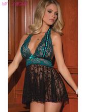 Buy Xmas Gift Best Sale plus size S-2XL lingerie women's underwear costume sexy baby dolls erotic lingerie good quality