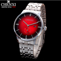 Small dial work Fashion Dynamic 3 Kinds Dial Color Choose From Casual Creative Full Steel quartz