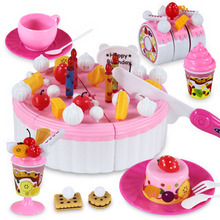 Baby Toy Pretend Play Toy  Big Simulation Toy Cake Fancy Toy For Children The Best Birthday Gift PL007(China (Mainland))