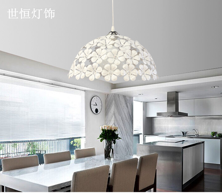 New Arrivals Flower designs Crystal Creative Modern Dining Pendant Lamp Restaurant Dining lamp Individual lamps for bedroom <br><br>Aliexpress