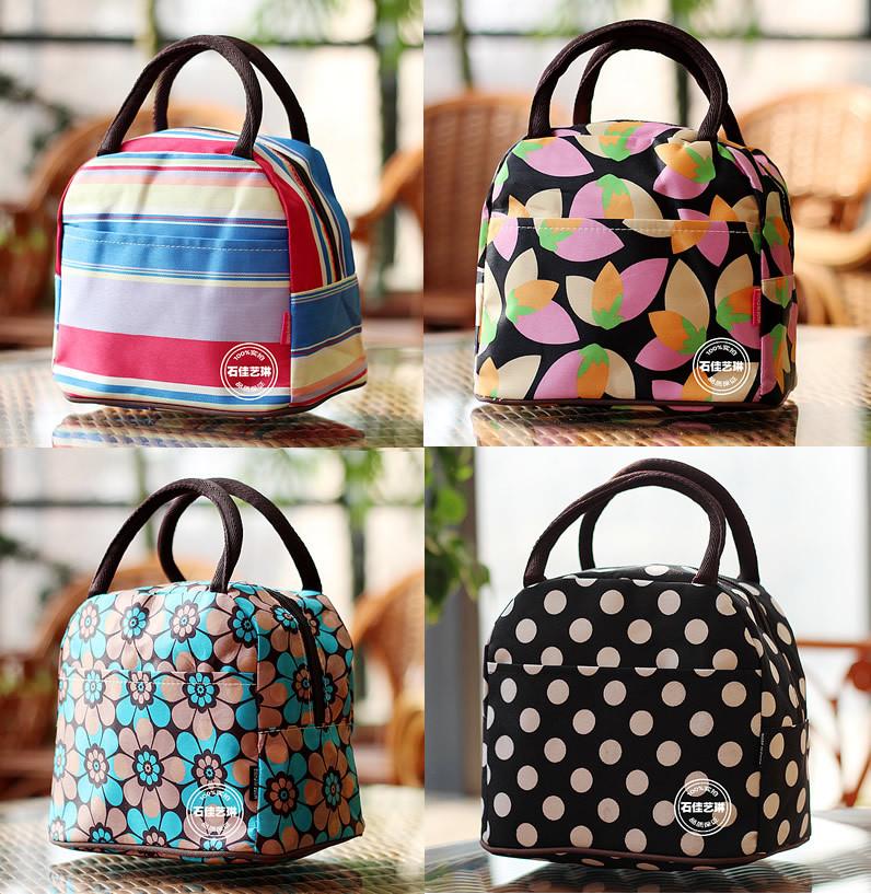Free shipping! New Style Lady Women's lunch bag Good quality canvas bag casual handbag beach bag storage Mom bag portable totes(China (Mainland))