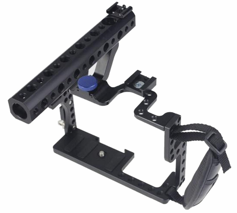 Professional-GH3-GH4-Protective-Housing-Case-Handle-Grip-Rugged-Cage-Combo-Set-DSLR-Rig-Digital-Camera (3)