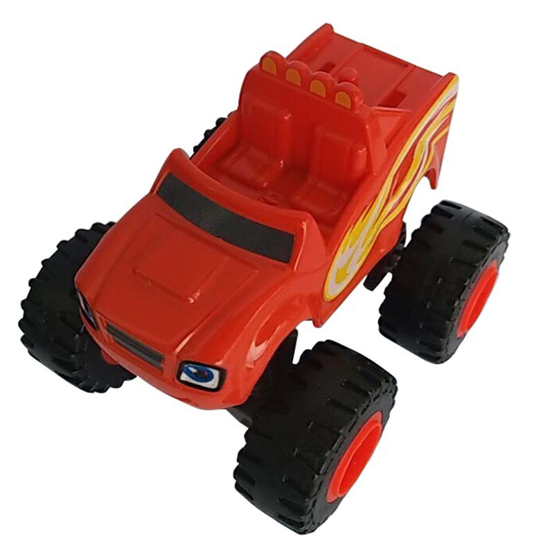 Blaze Monster Machines Toys Vehicle Car Pickle Zeg Darrington Crusher Stripes Original Box Best Gifts For Kids(China (Mainland))