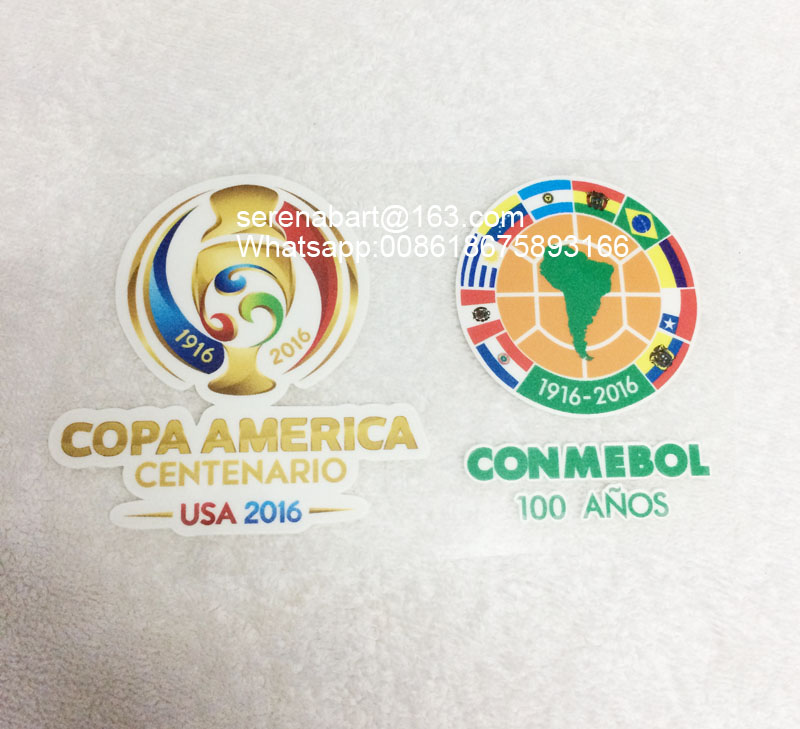 2016 Usa Copa America Centenario Sleeve Soccer Patch Soccer Badges-in Patches from Home & Garden on Aliexpress.com | Alibaba Group