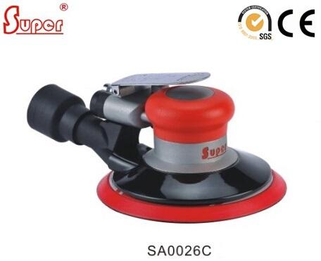 "Polishing Tools 6"" Pneumatic Random Orbital Sander Polisher CENTRAL VACUUM ORBIT 6mm (SA0026C)(China (Mainland))"