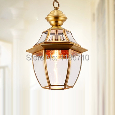 Factory direct sales of crystal chandelier copper lamp droplight American pastoral chandeliers and pendants and lanterns<br><br>Aliexpress