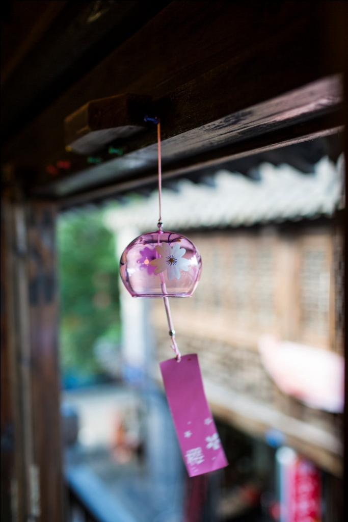 New year gift japanese style glass wind chimes endulge hangings, wedding decoration, Christmas gift, manual crafts,2 pieces/lot(China (Mainland))