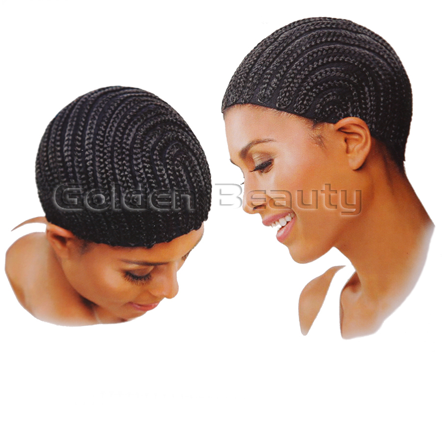 Crochet Hair On Net Cap : Wigs Cornrows Wig Cap With Adjustable Strap For Crochet Hair Net ...