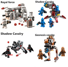 Bela STAR WARS Royal Army transport aircraft Clone troops Shadow trooper building blocks bricks toys Compatible With Legoe