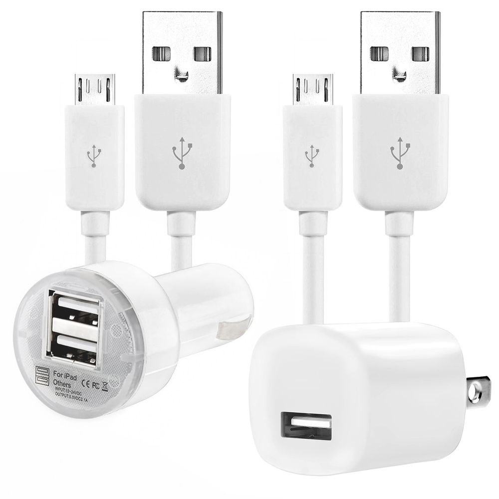 Set of Cable/Charger for SAMSUNG Micro USB data Cable + Wall and Car Charger For Samsung Galaxy S3 S4 S6(China (Mainland))