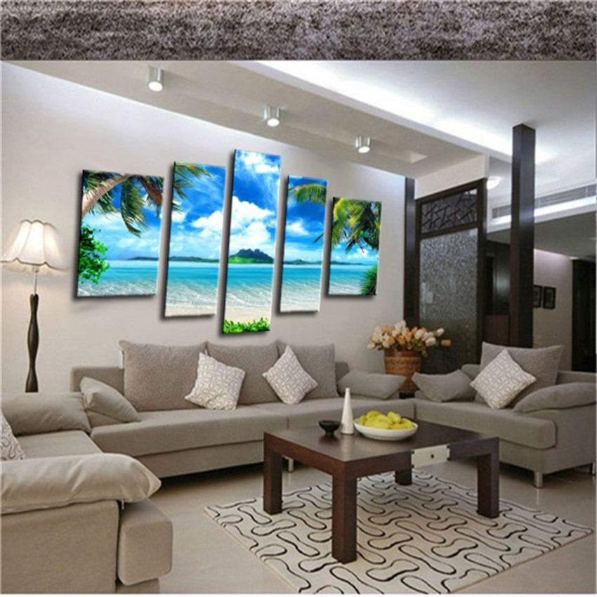 High quality 3d modern home decor oil painting canvas for Modern home furnishings
