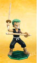 One Piece POP Roronoa Zoro Childhood PVC Figurine New Animation Model Decoration