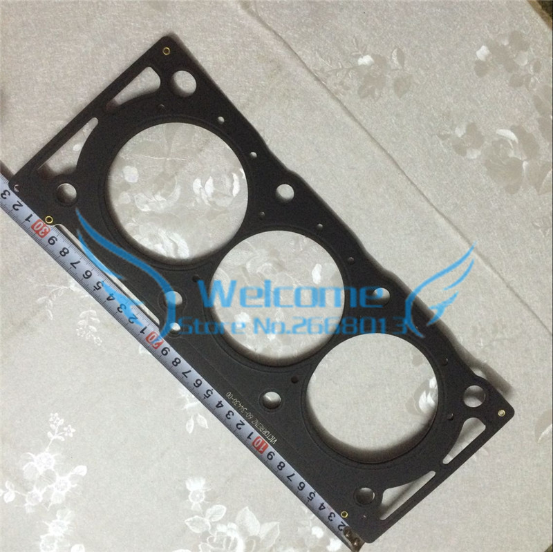 2PCS/LOT Cylinder head seal Cylinder bed gasket for OPEL VECTRA 3.2 OEM:5607868