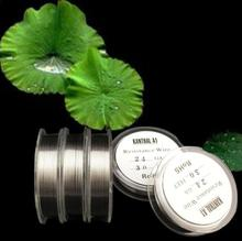 FYF2 Retail Kanthal A1 Wire Vapor Tech Heating Wire  22 / 24 / 26 / 28 / 30 / 32 AWG 90 Feet  RDA RBA  DIY Atomizer(China (Mainland))