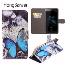 Buy HongBaiwei Homtom HT10 Case Fashion Girl Butterfly Pattern Flip Leather Wallet Phone Bag Case Homtom HT10 for $4.13 in AliExpress store