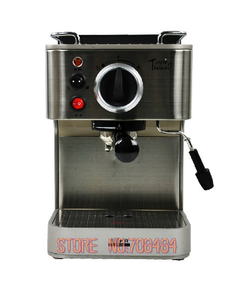 19 bar fully automatic espresso coffee machine cappuccino stainless steel coffee maker with milk foaming function(China (Mainland))