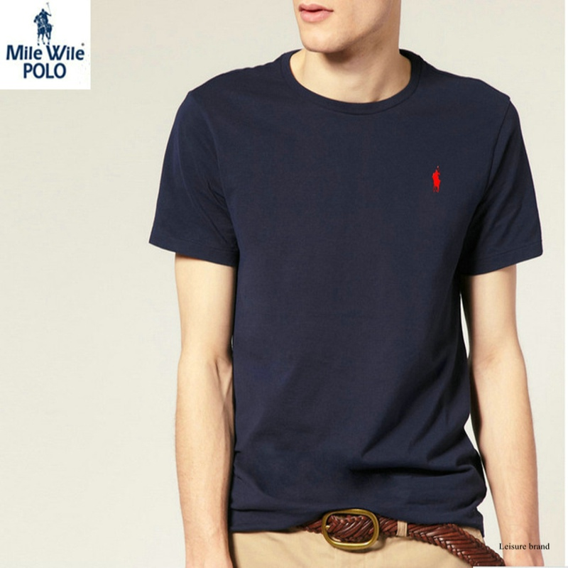 Free shipping New arrival 2016 men Fashion brand Leisure o-neck short sleeve t-shirt 100% cotton t-shirt   size S-XXLОдежда и ак�е��уары<br><br><br>Aliexpress