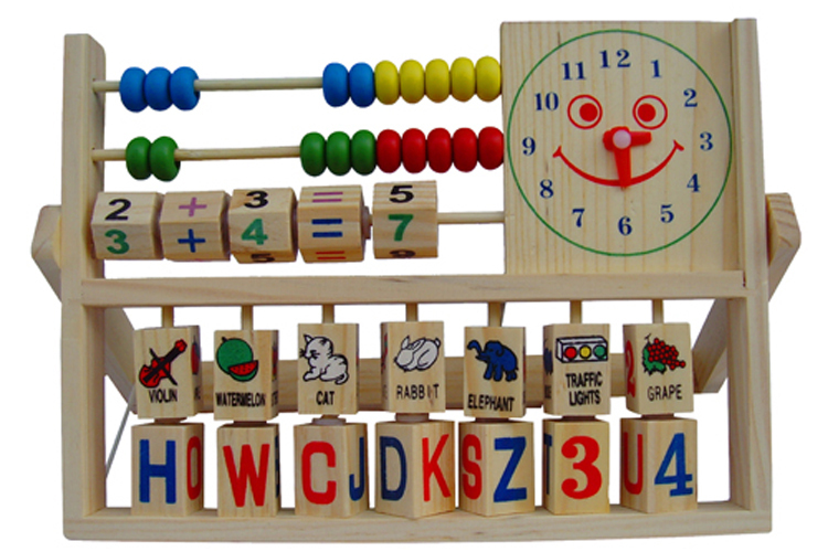 2015 Suitable Educational Computing Rack Multifunction Flap Childrens Early Educational Fancy Toys with montessori toy(China (Mainland))