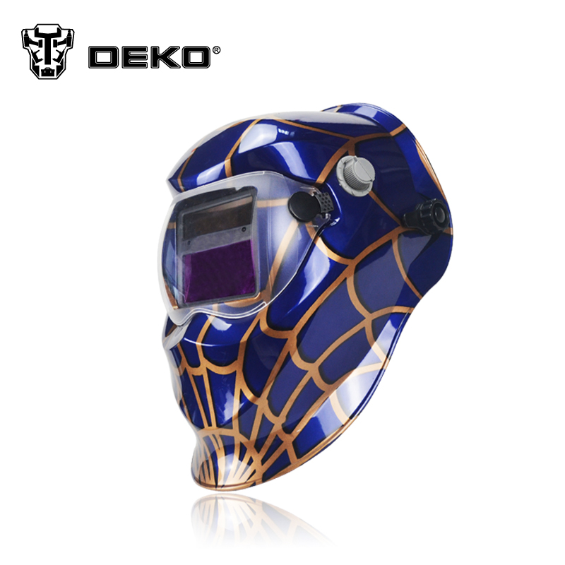 deko spider solar auto darkening electric welding mask helmet welder cap welding lens for. Black Bedroom Furniture Sets. Home Design Ideas