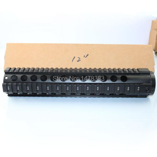 Vector Optics Tactical T-Series Free Float 12 Inch Carbine Handguard Quad Picatinny Rail Mount System fit AR15 M4 M16 Rifle Guns(China (Mainland))