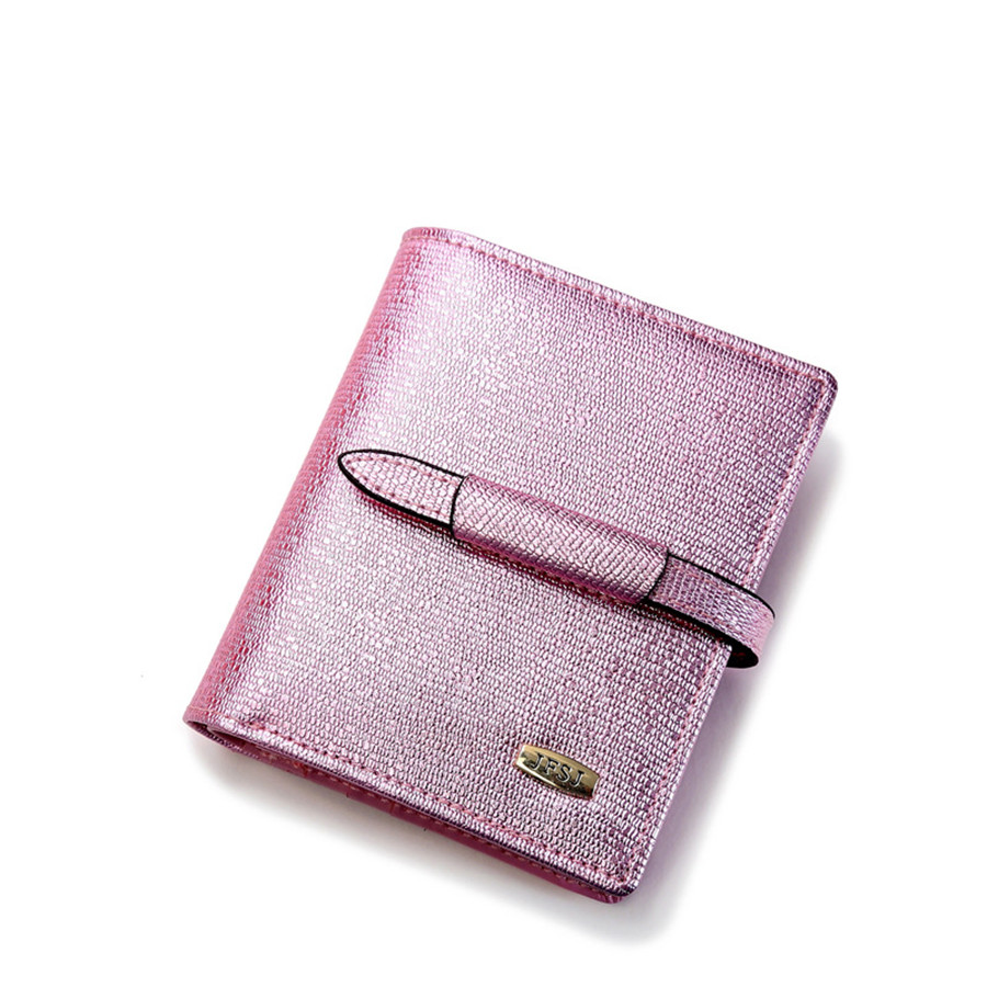 2016 new genuine leather wallet ladies cattle split leather money clip short two fold women girls leather wallet free shipping <br><br>Aliexpress
