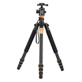 Carbon Fiber DSLR Camera Tripod Original QZSD Q999C Professional Monopod Ball Head Portable Photo Camera Better
