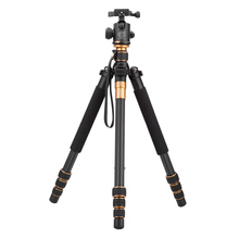 Carbon Fiber DSLR Camera Tripod Original QZSD Q999C Professional Monopod+Ball Head/Portable Photo Camera Better than Q666