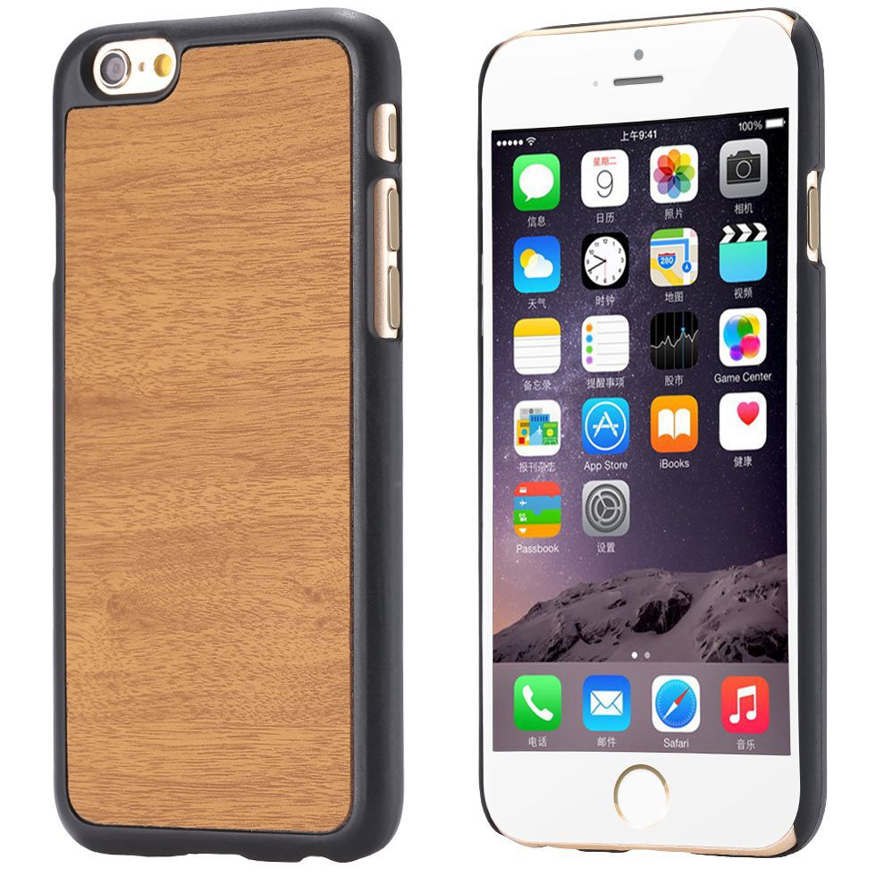 Cool Book Wood Skin Retro Hard Ultra Thin Slim Case for Apple iphone 6 4.7 i6 Back Phone Cover Luxury Funny Custom YXF04910(China (Mainland))