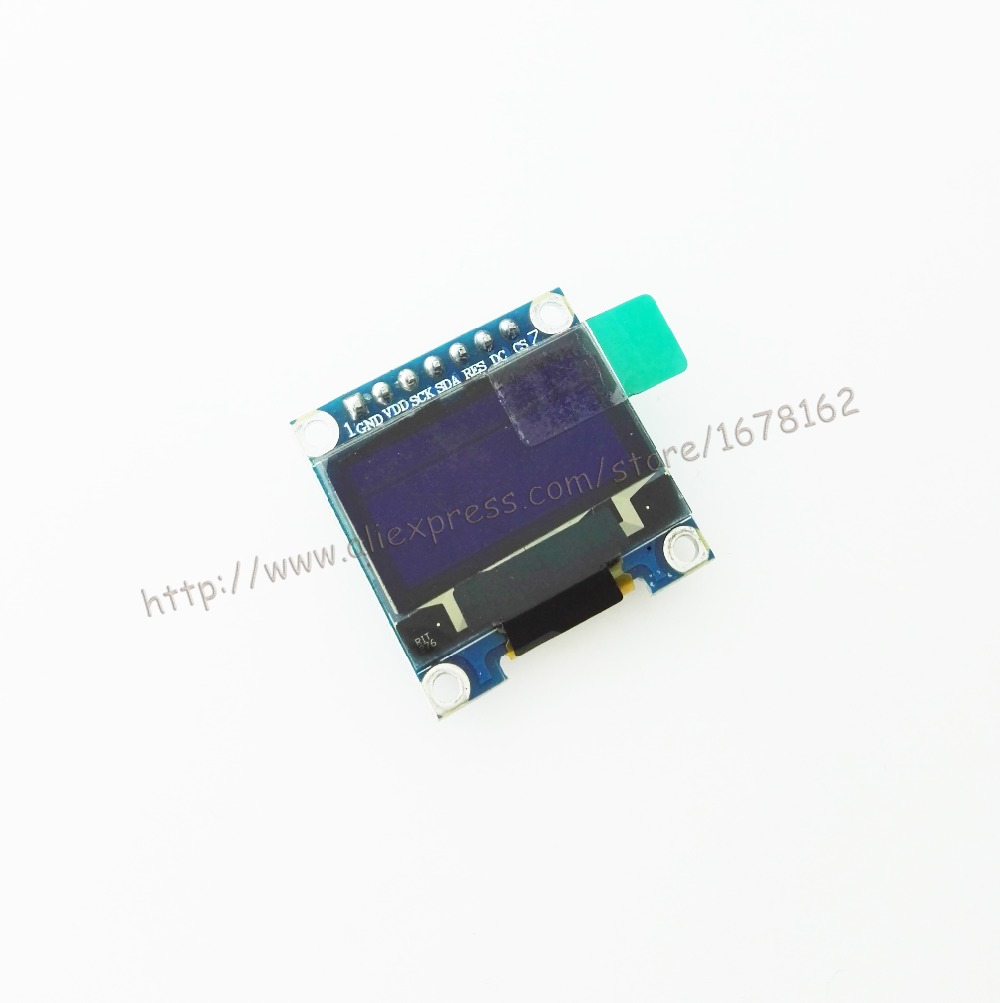 """2pcs/lot white color 128X64 0.96 inch OLED LCD Display Module For Arduino 0.96"""" IIC/SPI(China (Mainland))"""