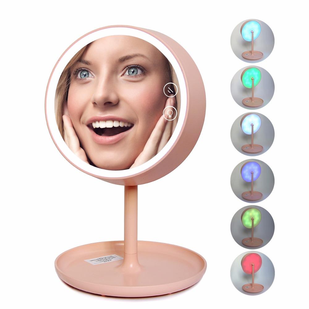 Acquista all 39 ingrosso online specchio per il trucco professionale da grossisti specchio per il - Specchio per trucco con luci ...