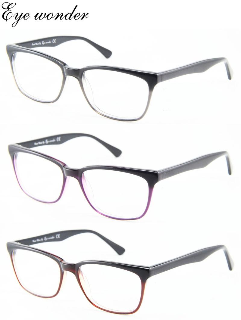 Eye wonder Wholesale Women Acetate Glasses Frames(China (Mainland))