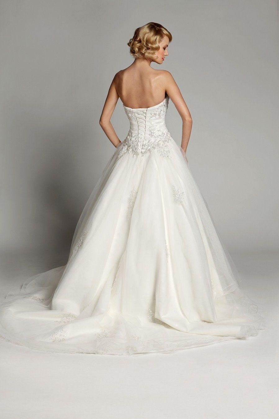 Sexy Application Wedding DressBridal Gown Custom Size 6 22
