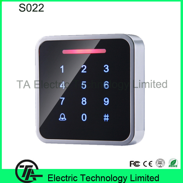 S022 wiegand input access control RFID card standalone access control with keypad single door proximity card access control(China (Mainland))