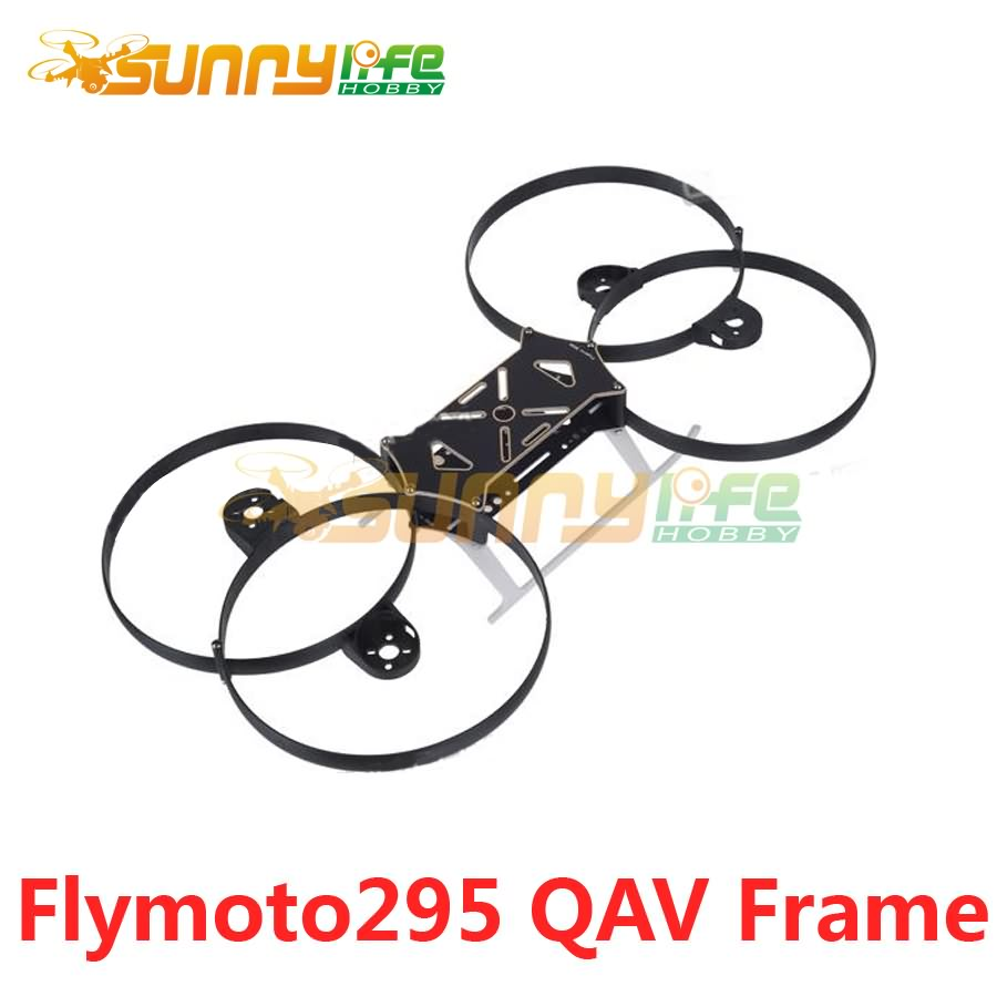 Flymoto295 Mini Racing Quadcopter Flying Moto 288mm 4-Axis Frame Kit with PCB Center Board QAV Frame for FPV<br><br>Aliexpress