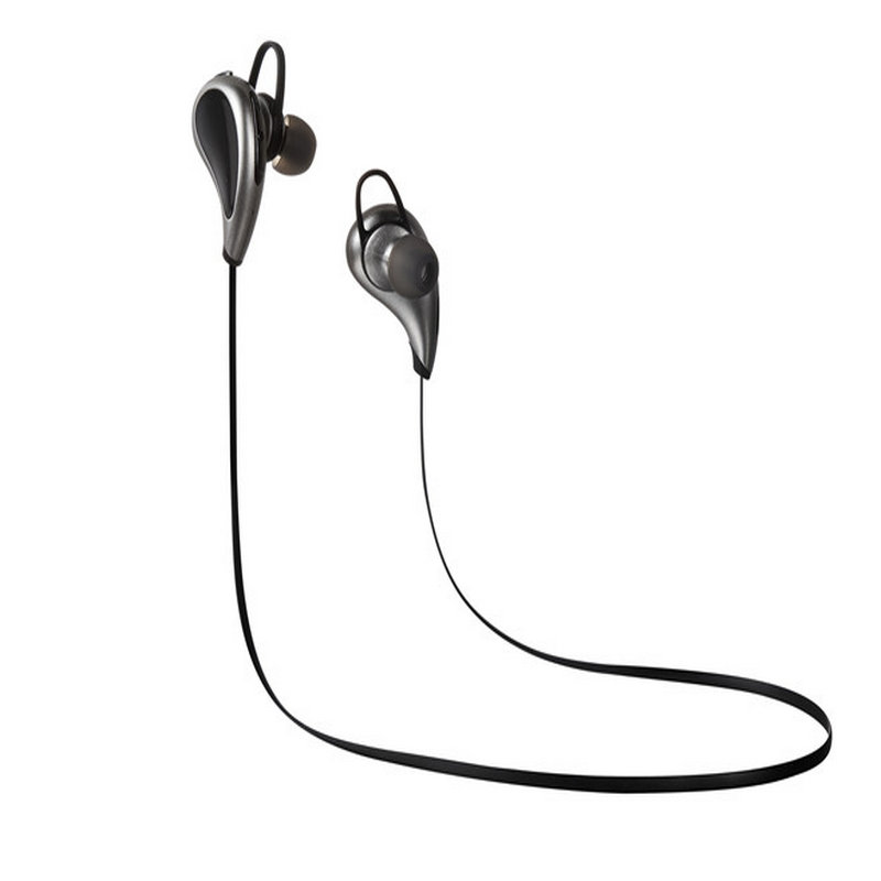 wireless bluetooth earbuds headset noise isolating sports running stereo earphones with. Black Bedroom Furniture Sets. Home Design Ideas