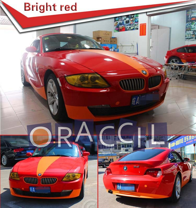 Guaranteed 100% 1.52X30M Black Glossy Vinyl Film For Car Wrapping (with air free channel)(China (Mainland))