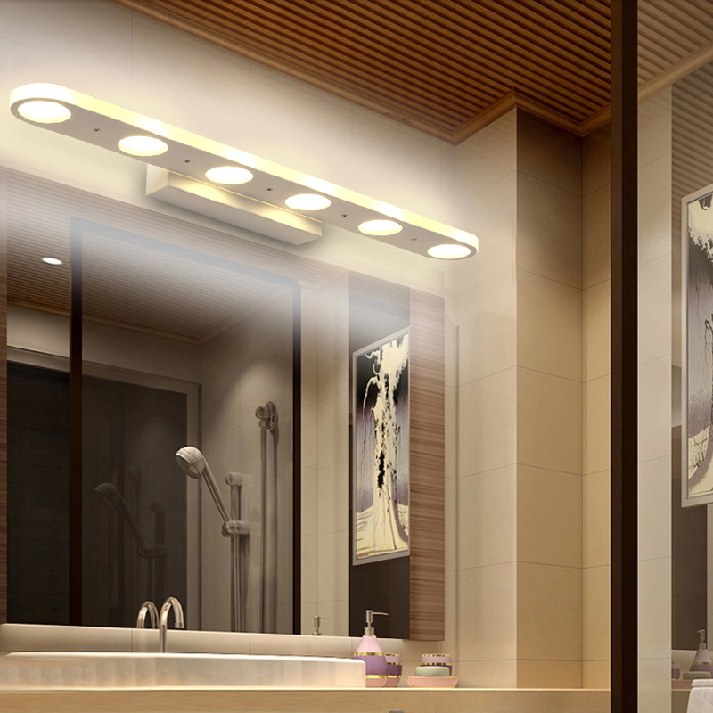 New Wall Led Mirror Lights Modern Wall Lamps Bathroom