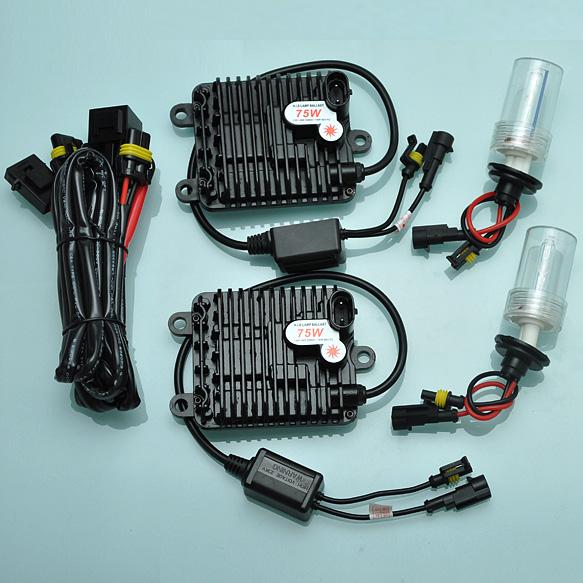 75W H1 4300K Bulbs HID Xenon Digital Ballast Conversion Headlight Kit Bright New [ AC393]