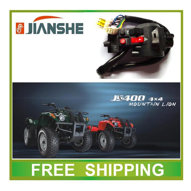 JIANSHE left switch JS 400 MOUNTAIN LION 400CC ATV YAMABUGGY GO KART accessories free shipping<br><br>Aliexpress