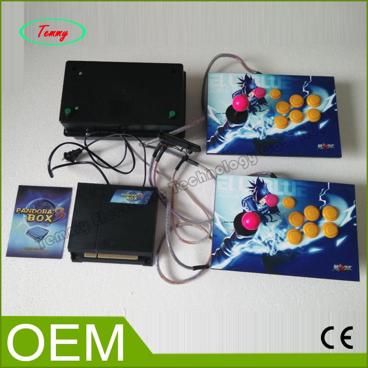 Video game MACHINE consoles Pandora box 3 jamma multi game 520 in 1 controller(China (Mainland))