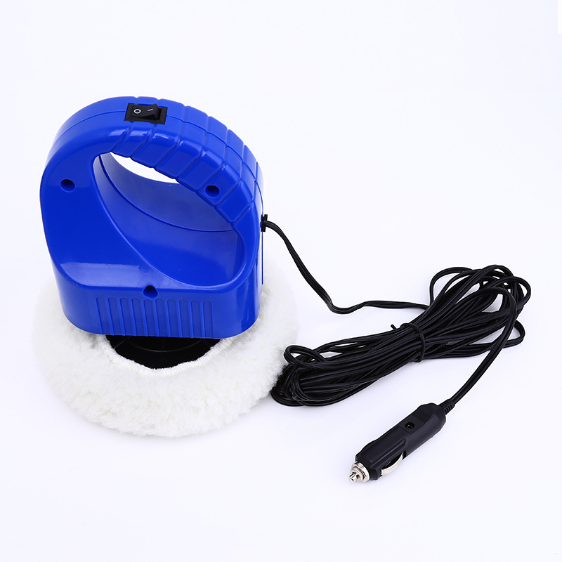 High Quality 12V Mini Portable 1500RPM Car Waxing Machine Polishing Machine for Car Free Shipping(China (Mainland))