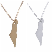 Buy 2016 New Fashion Palestine Map Necklace Long Chain Map Pendants Necklaces Women Girls Birthday Party Jewelry Gifts -N195 for $1.41 in AliExpress store