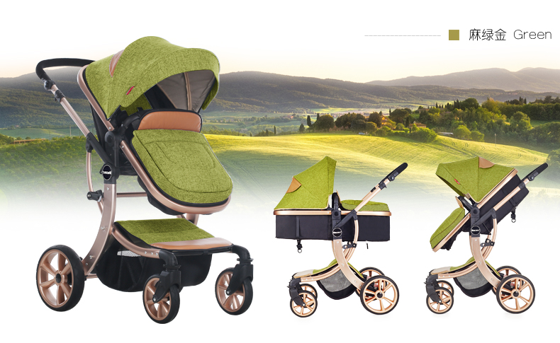 Cheap New Design Aluminum Alloy Brand Baby Stroller 4 States Canopy Kids Buggy For Children From 0-36 Months<br><br>Aliexpress