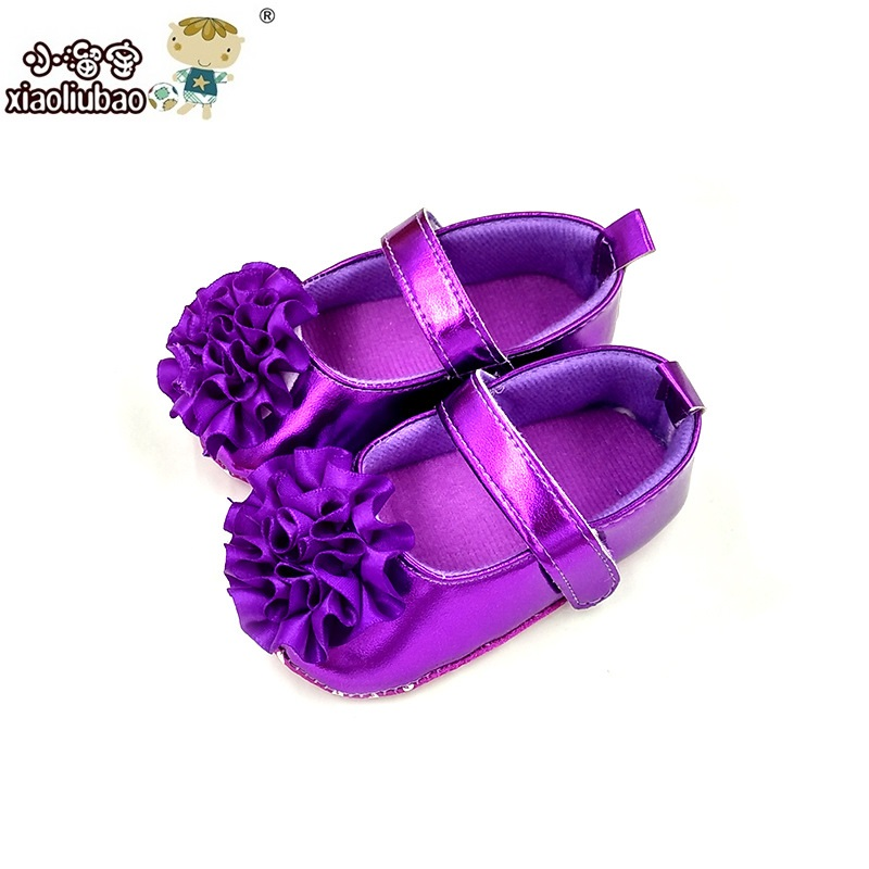 Brand Baby Shoes Newborn Bebe First Walkers Princess Soft Sole Baby Shoes Leather Girls Kids Shoes 11cm 12cm 13cm(China (Mainland))