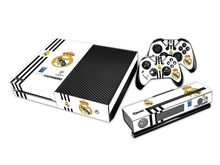 Football Club for Microsoft XBOX ONE Skin Stickers + 2Pcs Controller Skin Console Stickers Protective Skin for XBOXONE Stickers