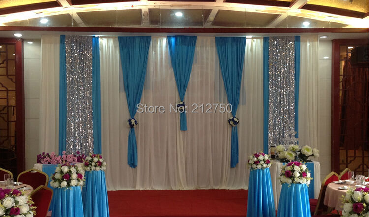 Buy 2015 new european style wedding for Background curtain decoration