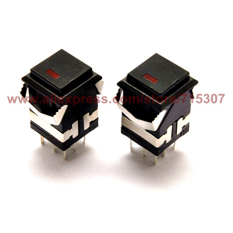 push button switch kd2-21 black